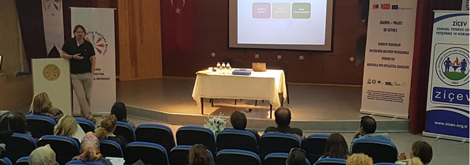 Dissemination Meeting on E-Learning Portal was held at Gölbaşı Special Education and Practices Center on May 16, 2017