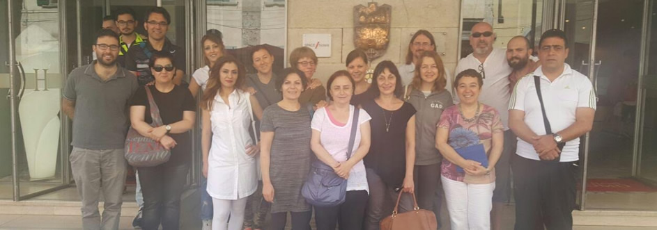 The short-term joint staff training took place in Pisa-Italy between 6-11 June 2016