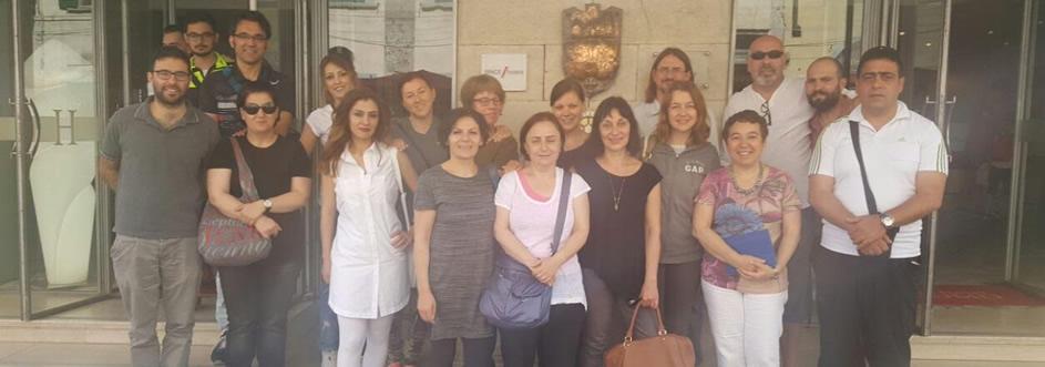6-11 Haziran 2016 tarihleri arasında Pisa-İtalya'da kısa dönem ortak personel eğitimi gerçekleşti